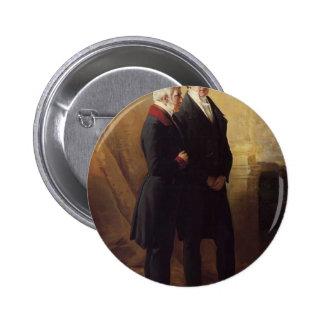 Franz Winterhalter- Arthur Wellesley Pinback Button