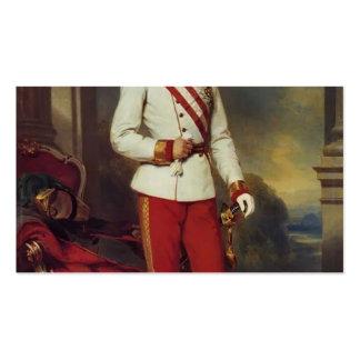 Franz Winterhalter-Austrian Emperor & Maria Teresa Business Card