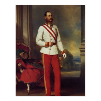 Franz Winterhalter-Austrian Emperor & Maria Teresa Postcard