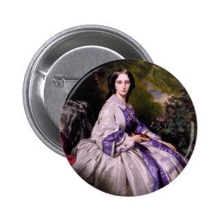 Franz Winterhalter- Countess Alexander Lamsdorff Pinback Button