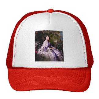 Franz Winterhalter- Countess Alexander Lamsdorff Mesh Hats