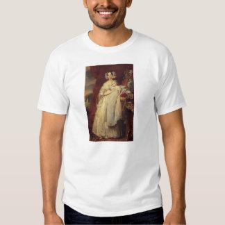 Franz Winterhalter-Duchess of Orlean with his son Shirt
