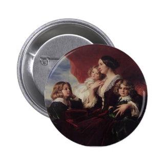 Franz Winterhalter-Elzbieta Branicka & Children Button