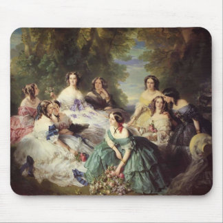 Franz Winterhalter-Empress Eugenie with her Ladies Mouse Pad