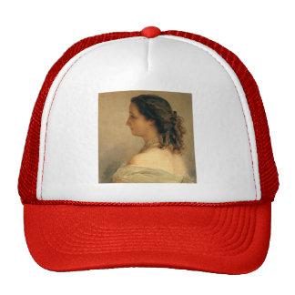 Franz Winterhalter: Eugenie, Empress of French Mesh Hat