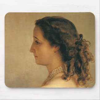 Franz Winterhalter: Eugenie, Empress of French Mouse Pad