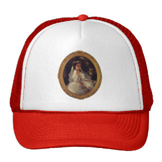 Franz Winterhalter- Pauline Sandor Mesh Hats