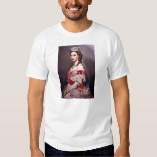Franz Winterhalter- Portrait of Charlotte,Belgium Shirts
