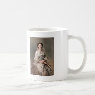 Franz Winterhalter- Portrait of Empress Maria Coffee Mug