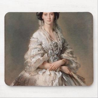 Franz Winterhalter- Portrait of Empress Maria Mouse Pads