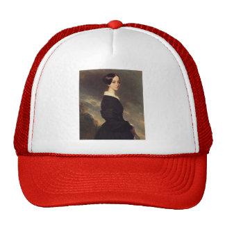 Franz Winterhalter- Portrait of Francisca Caroline Hat