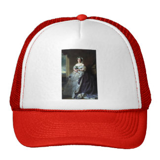 Franz Winterhalter- Portrait of Lady Middleton Mesh Hats
