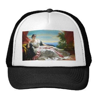 Franz Winterhalter- Portrait of Leonilla Trucker Hat
