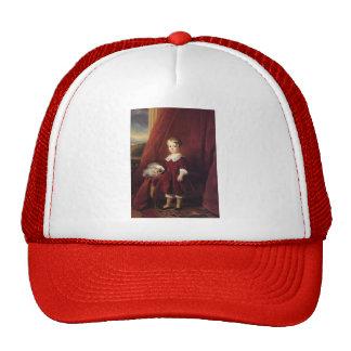 Franz Winterhalter- Portrait of Louis d'Orleans Mesh Hat