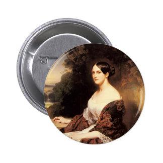 Franz Winterhalter- Portrait of Madame Ackerman Buttons