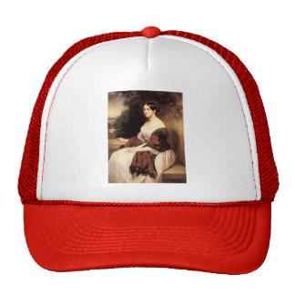 Franz Winterhalter- Portrait of Madame Ackerman Hats