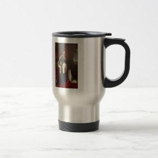 Franz Winterhalter- Portrait of Napoleon III 15 Oz Stainless Steel Travel Mug