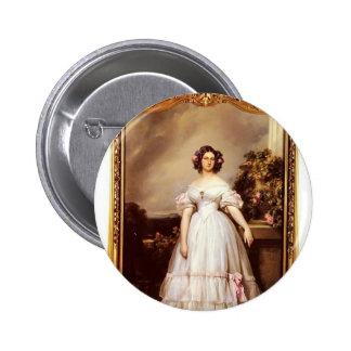 Franz Winterhalter- Portrait of Princess Marie Pin