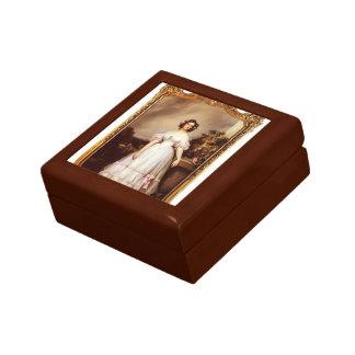 Franz Winterhalter- Portrait of Princess Marie Gift Box
