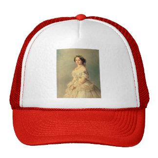 Franz Winterhalter- Portrait of Princess of Baden Mesh Hats
