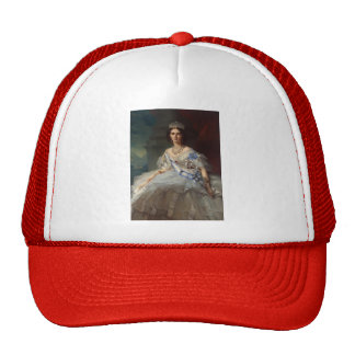 Franz Winterhalter- Portrait of Princess Tatiana Hat