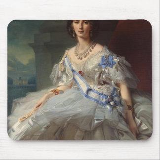 Franz Winterhalter- Portrait of Princess Tatiana Mousepad