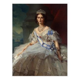 Franz Winterhalter- Portrait of Princess Tatiana Postcard