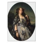 Franz Winterhalter- Portrait of Sophia Radziwill Card