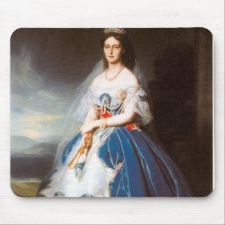 Franz Winterhalter- Portrait of the Queen Olga Mouse Pads
