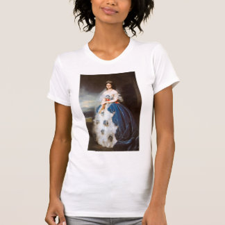 Franz Winterhalter- Portrait of the Queen Olga Tshirt