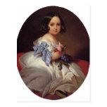 Franz Winterhalter- Princess Charlotte of Belgium Postcard