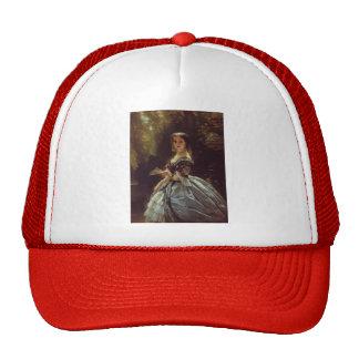 Franz Winterhalter- Princess Elizabeth Belosselsky Mesh Hat