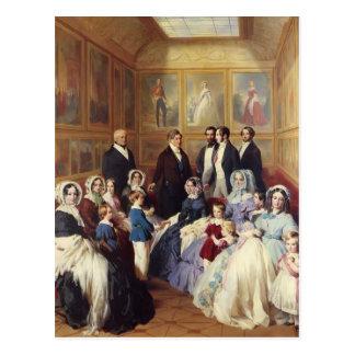 Franz Winterhalter-Queen Victoria & Prince Albert Postcard