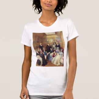 Franz Winterhalter-Queen Victoria & Prince Albert Tshirts