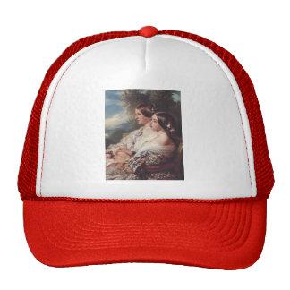 Franz Winterhalter- The Cousins Hats