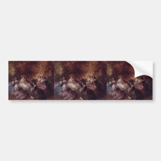 Franz Winterhalter- The Empress Eugenie Bumper Sticker