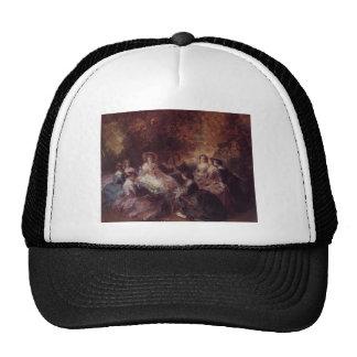 Franz Winterhalter- The Empress Eugenie Hat