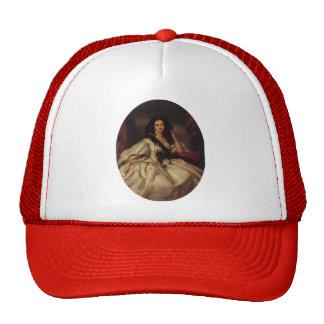 Franz Winterhalter- Wienczyslawa Barczewska Mesh Hats