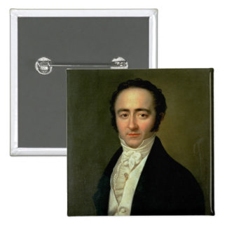 Franz Xaver Mozart , later known as Wolfgang 2 Inch Square Button