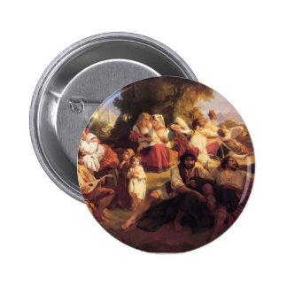 Franz Xaver Winterhalter- Il dolce Farniente Buttons
