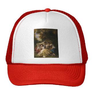 Franz Xaver Winterhalter- La Siesta Mesh Hats