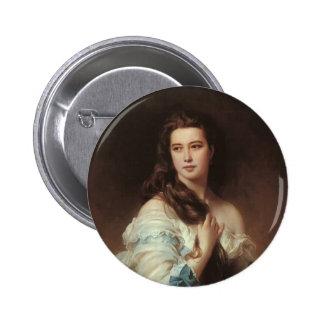 Franz Xaver Winterhalter-Portrait of Madame Rimsky Pinback Buttons