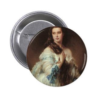 Franz Xaver Winterhalter-Portrait of Madame Rimsky Button