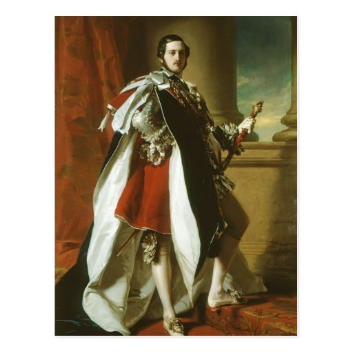 Franz Xaver Winterhalter-Portrait of Prince Albert Postcards