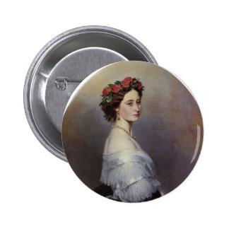 Franz Xaver Winterhalter- Princes Alice of England Pinback Button
