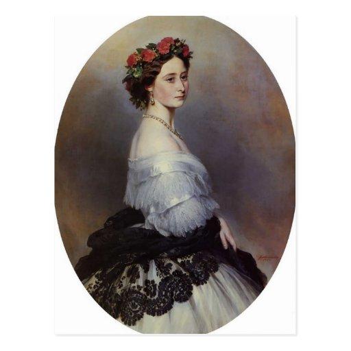 Franz Xaver Winterhalter- Princes Alice of England Postcard