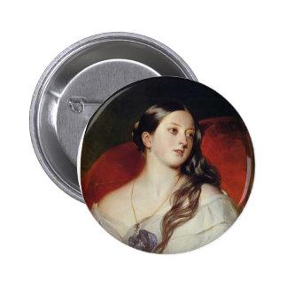 Franz Xaver Winterhalter- Queen Victoria Pinback Buttons