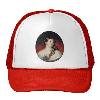Franz Xaver Winterhalter- Queen Victoria Mesh Hats