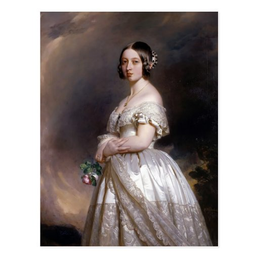 Franz Xaver Winterhalter- Queen Victoria Post Cards