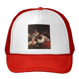 Franz Xaver Winterhalter- Roman Genre Scene Mesh Hat